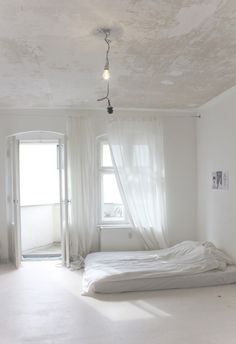 Refreshingly simple great spare room for meditation..