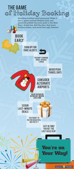 #Infographic: The Game of Holiday Booking - SmarterTravel.com