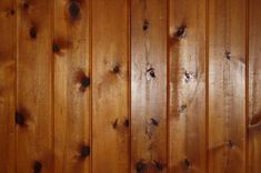 How I painted over wood panelling