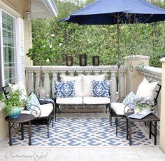 blue balcony by centsational girl