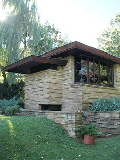 [Chattanooga] Shavin Residence - Frank Lloyd Wright frank lloyd wright