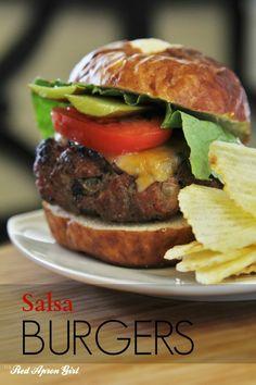 Salsa Burgers, best burger ever!