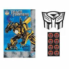 Transformers 3 - Party Game Party Accessory BUYSEASONS. $3.08. Save 63% Off!