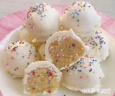 No Bake Cake Batter Truffles!