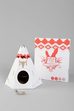Pop-up Cat Tent - Urban Outfitters - Pretty Prudent Wishlist: For the Pets - Holiday 2013