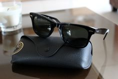 RayBan... the only high end glasses I will every buy. Have three pairs