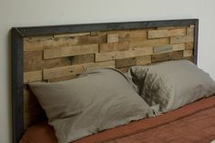 Reclaimed wood headboard  Google Image Result for http://www.cmstatic1.com/34521/c/reclaimed-wood-and-iron-steel-headboard--UDUzNC0zNDUyMS4xNDY0Mzg%3D.jpg