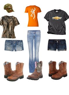 Mudding outfits with ariat fatbaby boots