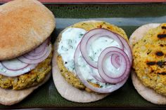 Vegetarian Chickpea Burgers Recipe