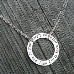 And So the Lion Fell in Love with the Lamb by birthdesigns on Etsy