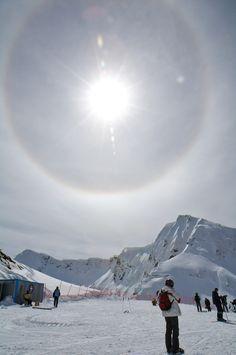Sochi, Russia Explore the cold! Also Winter Olympics 2014 starting tonight! Make sure to watch!! winter olympics, sun dog, solar halo
