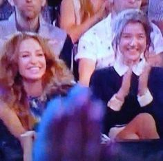 Its soo sweet to see how proud they are of the guys. Perrie Edwards is also proud of them all!!