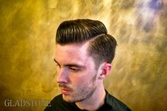 Here's another 1950's pompadour, don't be deceived, you need a lot of length on top for a cut like this but if you got it or are willing to wait it's worth it. It's on the most renowned men's haircuts and still looks sharp 60 years on.