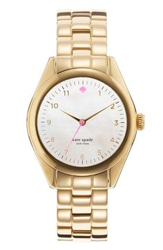 kate spade new york 'seaport' bracelet watch available at #Nordstrom