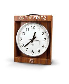 On the Fritz Wall Broken Wall Clock $28.75
