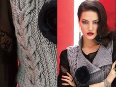 ▶ #1 Double-Breasted Vest, Vogue Knitting Winter 2013/14 - YouTube vogue, knit winter, vogu knit, winter 201314, knitting, youtube, magazines