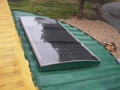 Aluminum pop/beer can solar heater (solar forum at permies)