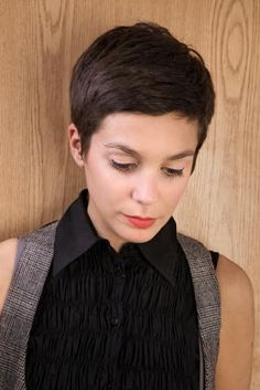 thinking about going short....love this pixie!