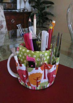Cool Idea for Pencil Holder..!!♥♡