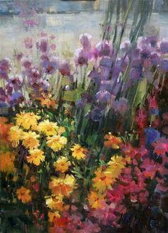 Harbor Flowers - Mary Maxam