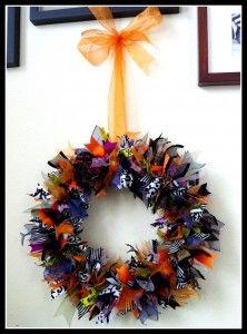 DIY tutorial - Ribbon Wreath