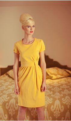 #yellow  yellow dress #2dayslook #yellow style #yellowfashiondress  www.2dayslook.com