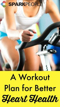 Treat your ticker right with this easy-to-follow #workout plan! | via @SparkPeople #fitness #health #wellness #exercise