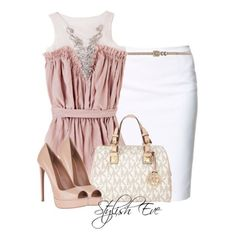 Job interview skirt outfit