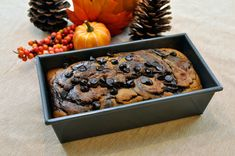 Fall Recipe: Pumpkin Chocolate Bread