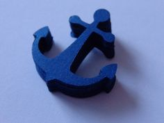 100 Navy Blue Anchor Die Cuts Paper Punches Embellishments Confetti