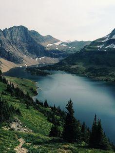 Hidden Lake. Glacier National Park, Montana