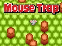 Introducing our newest mobile game, Mouse Trap. Trap the mouse by clicking on the hexagon spaces. Each time you click the mouse moves one space. Towers block the mouse from leaving. Trap the mouse onto the board and you win!