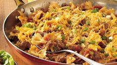 Easy Cheesy Beef and Bow-Ties
