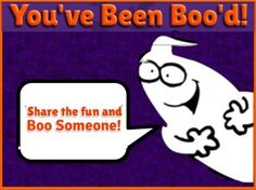 Click the image for your own ghost to display, but first print out two, so others can play! Boo two more teachers, when no one's around, and see them smile when your treat has been found!