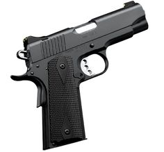 Kimber 1911 Pro TLE II - A shorter version of the pistol carried by LAPD® SWAT, a 4-inch bull barrel makes it easy to carry and conceal.