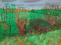 David Hockney, LANDSCAPES OF YORKSHIRE
