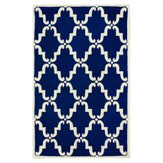 Isias Rug in Blue at Joss & Main