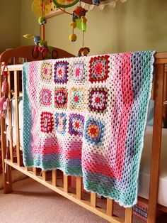 hook, crochet ole, roses, baby blankets, granny squares, craft project, babi blanket, crochet idea, knit project