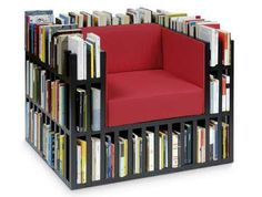 Armchair library... I want!