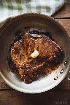 Balsamic Whiskey Steak