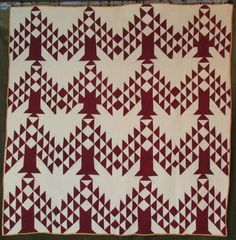 Seller Sourcebook - Auctions Templates & Image Hosting antiqu cranberri, color quilt, white quilt, tree quilt, pine tree, trees, antiqu quilt, tree of life, antiques
