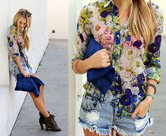"""Flower Power"" by Shea Marie on LOOKBOOK.nu"