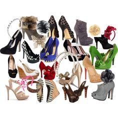 A few of My Favorite Things...shoes and hair accs!