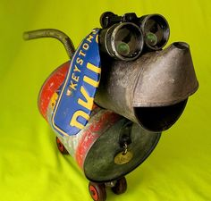 Robots Made From Found Objects