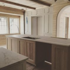 Dreamy kitchen coming along nicely...