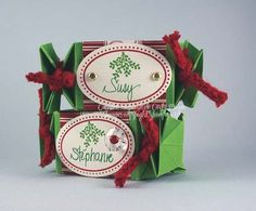 wrapper die, place cards, cheeri wrapper, su christma, stampin, christma idea, celebr candi, candy wrappers, candi wrapper