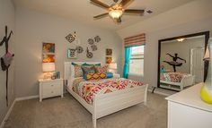 Lennar Girl's Bedroom in Lakes Of Savannah: Savannah Cove - Vista Collection