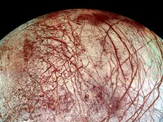 Europa's Cracks from afar
