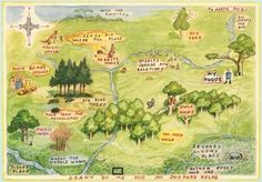 Hundred Acre Wood: where I wanted to live when I was very young