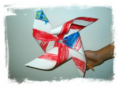 July 4th Pinwheel
